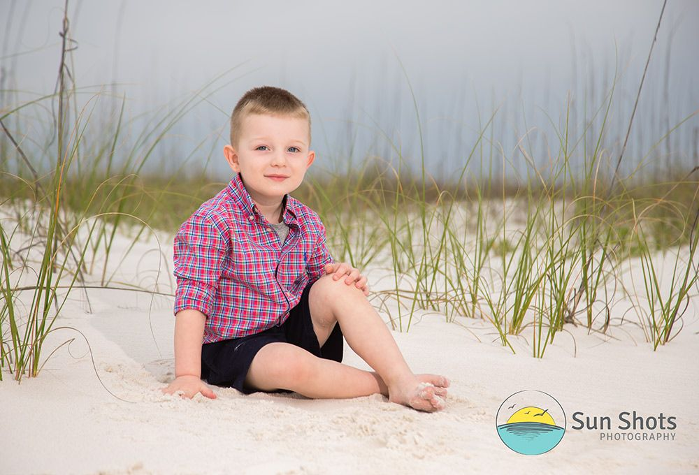 Professional beach pictures while on spring beach in Gulf Shores