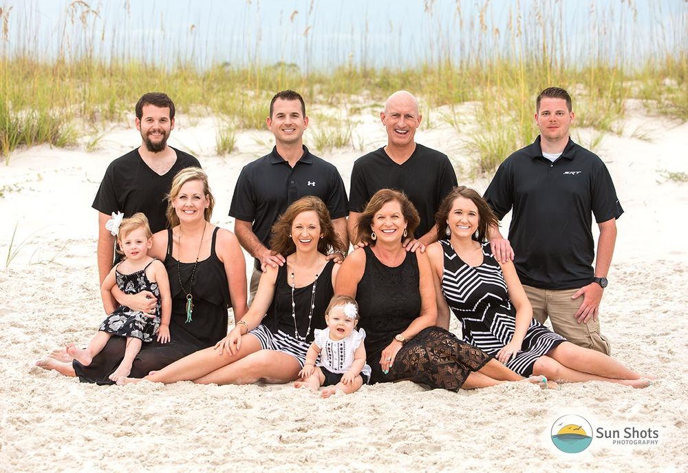 Professional vacation portraits in Gulf Shores, Alabama
