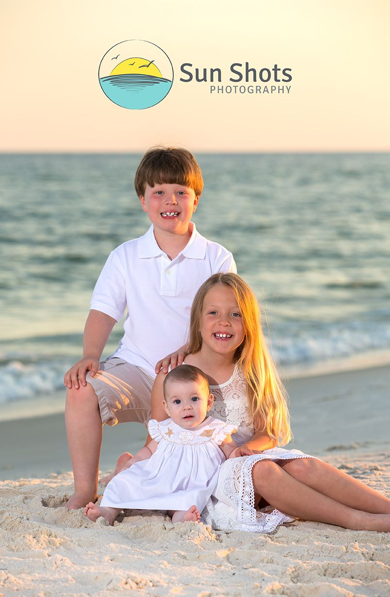 Professional family beach portraits in Gulf Shores, Alabama
