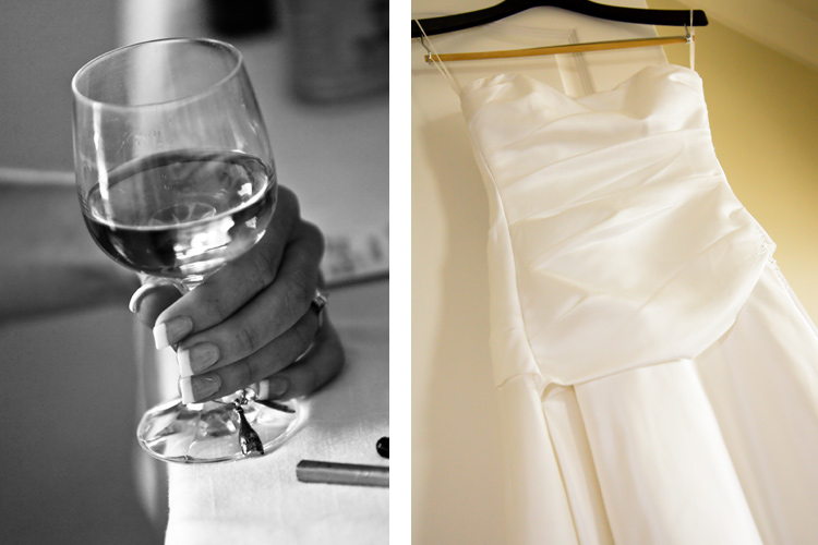 Detail wedding photographs
