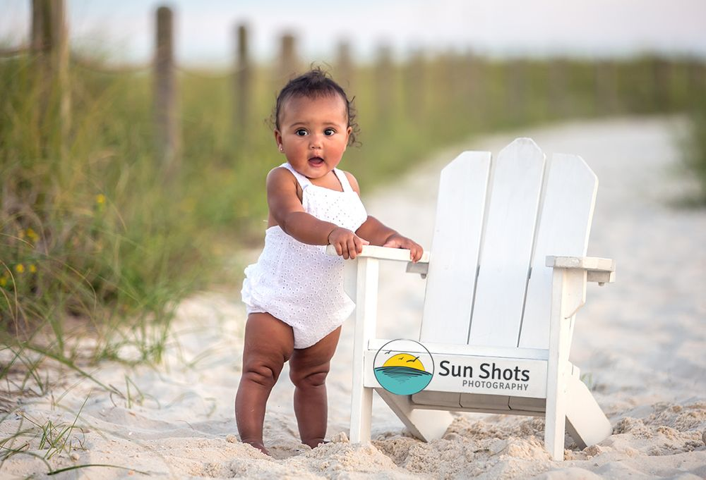 Sunset portraits in Gulf Shores, Alabama