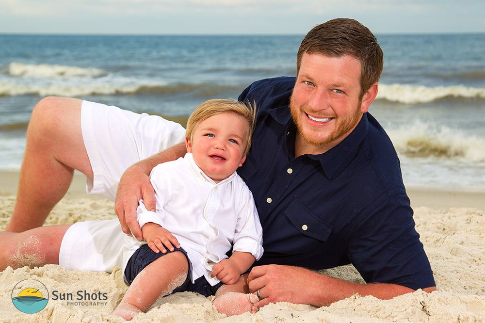 Professional beach portraits