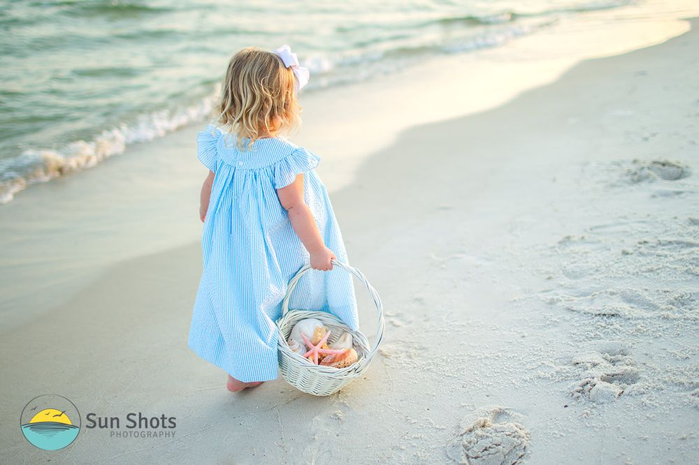 Easter Photos on the Beach