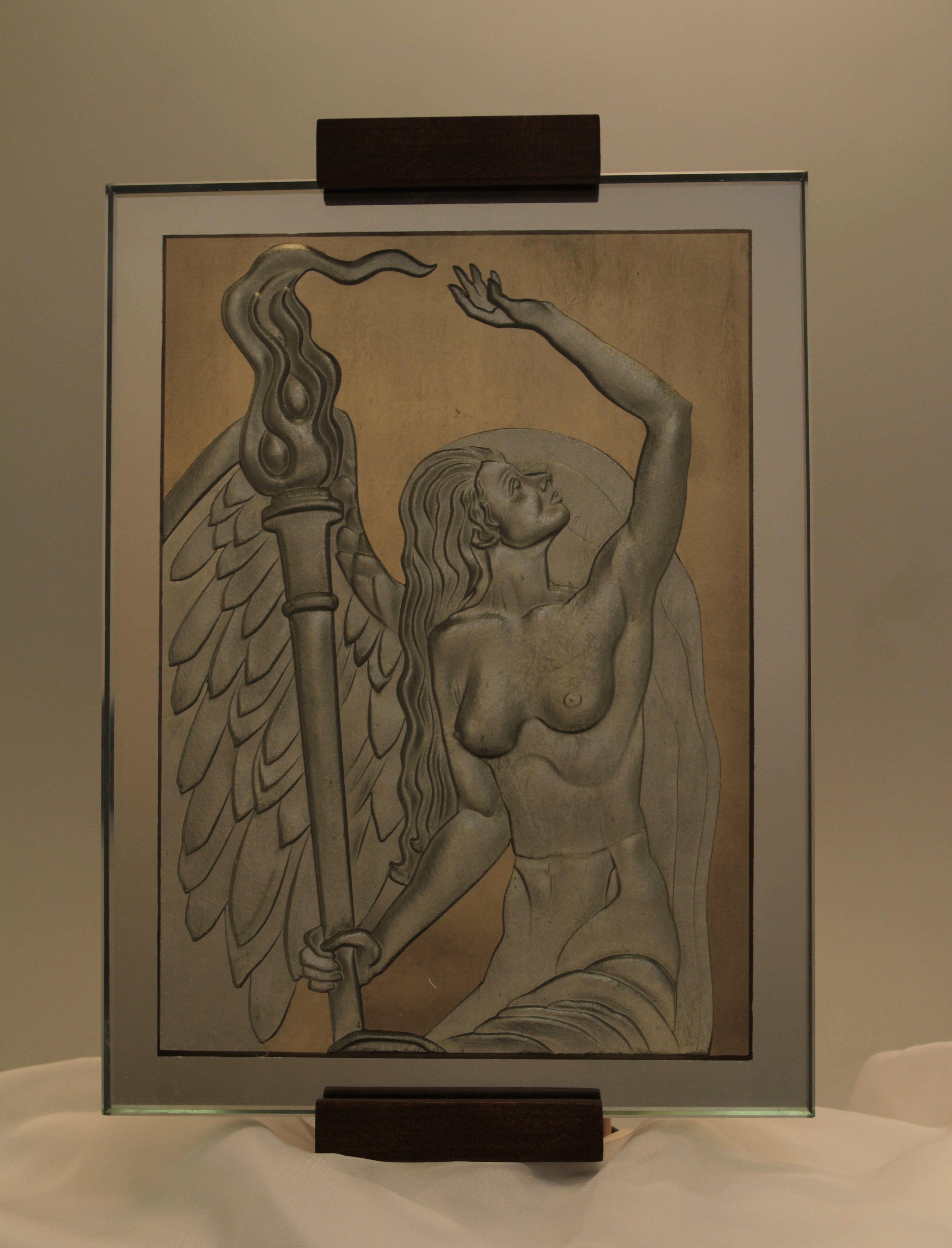 Holding Light - De Carter Ray- Classical Glass Studios -9x2x12.jpeg