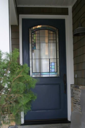 Leaded glass door: The HawthornsPrivate Residence - Newport Beach, CA