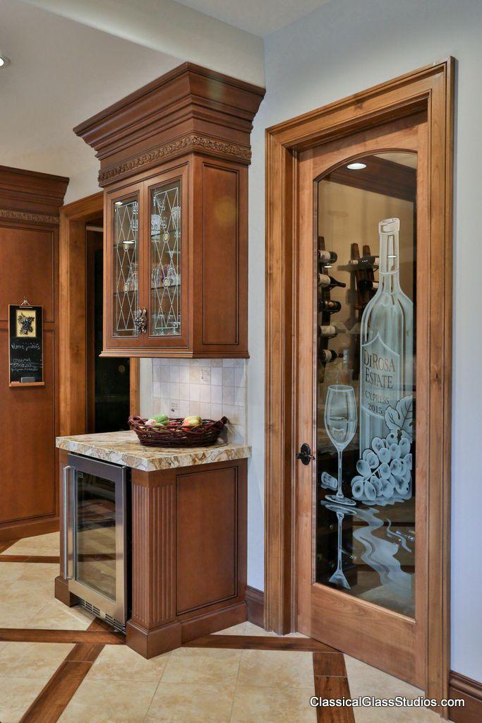 Wine Cellar Door - ClassicalGlassStudios.com - by De Carter Ray - # Art Glass.jpeg