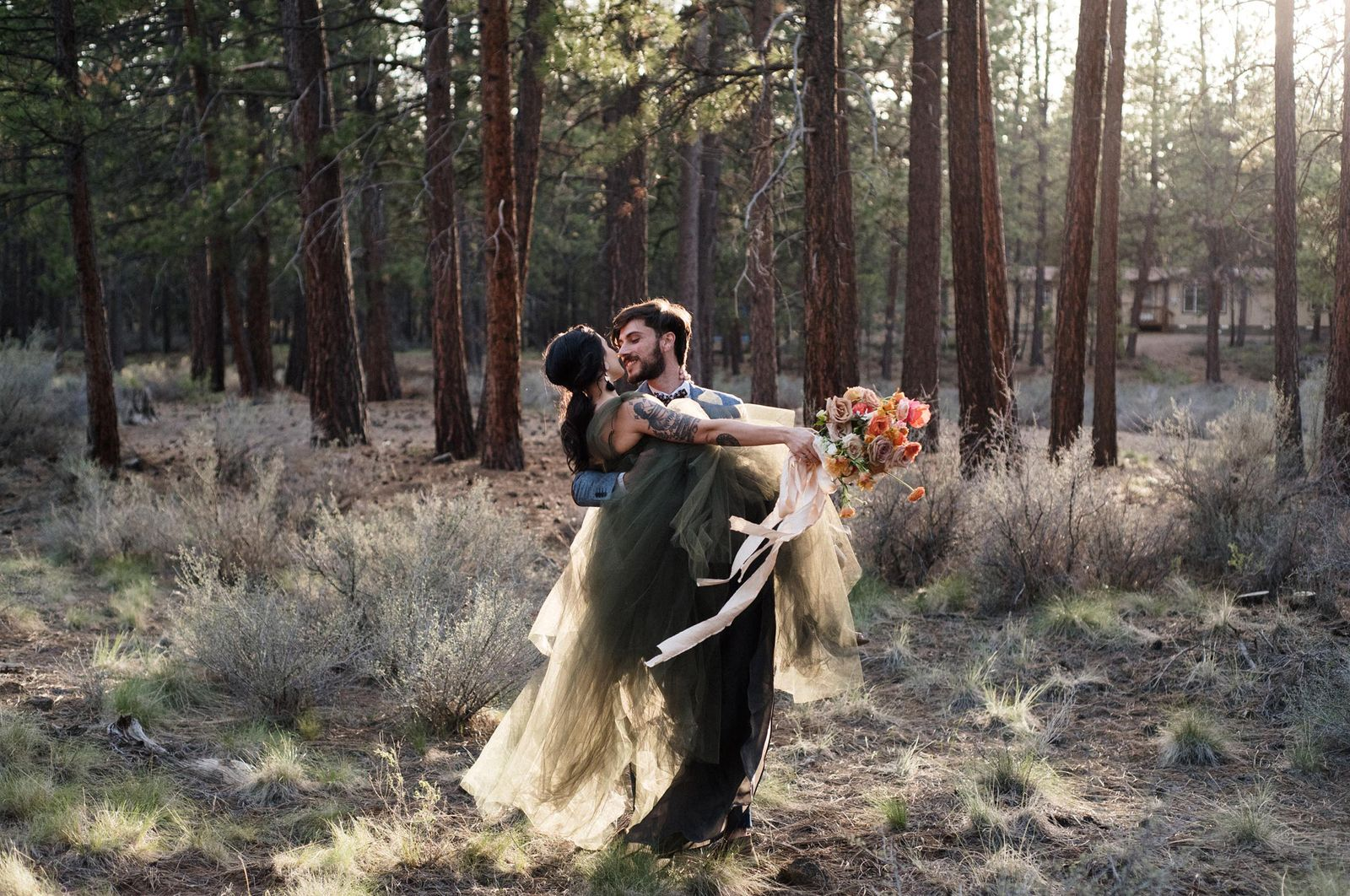 Central Oregon elopement