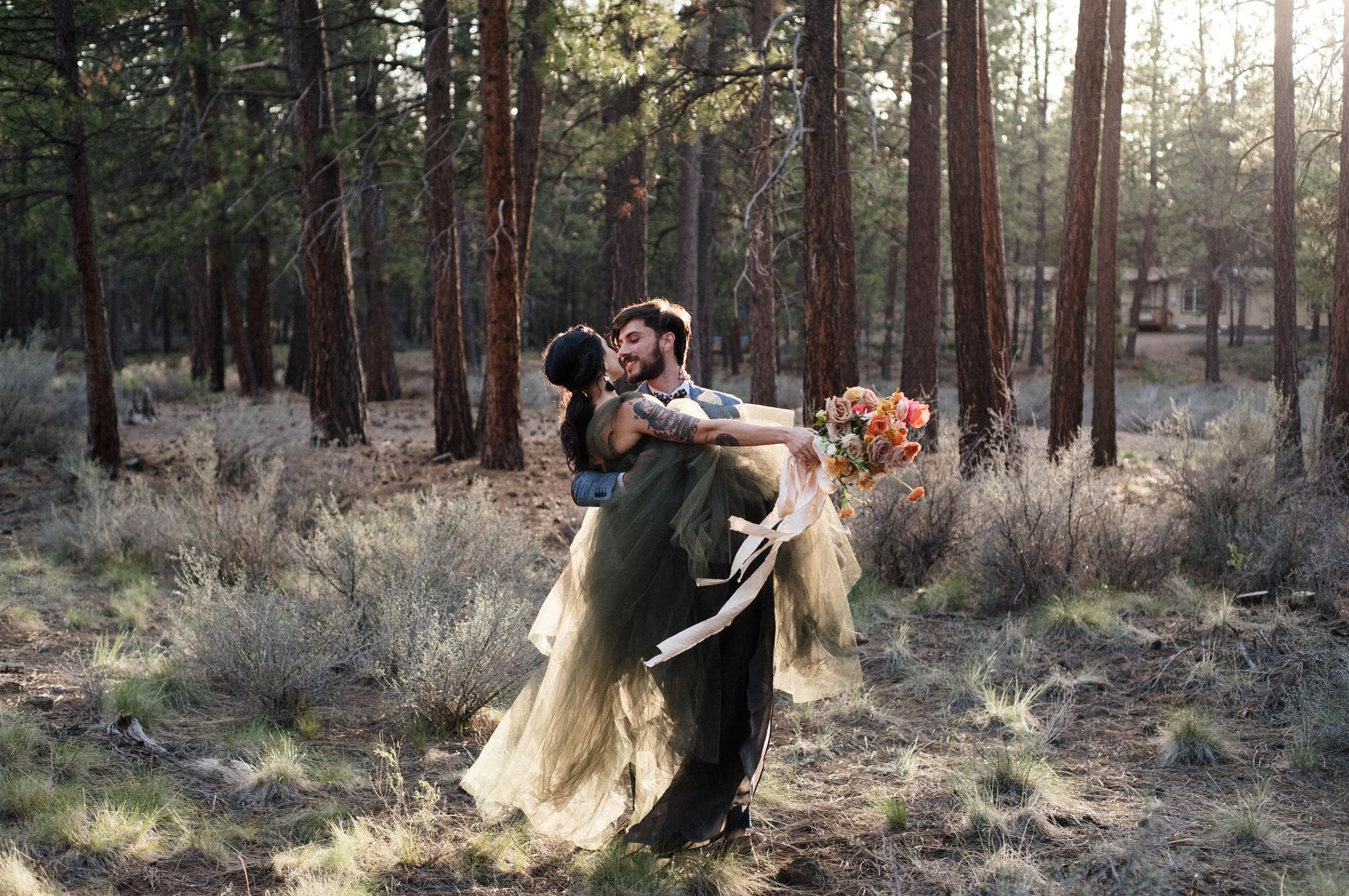 Central Oregon elopement