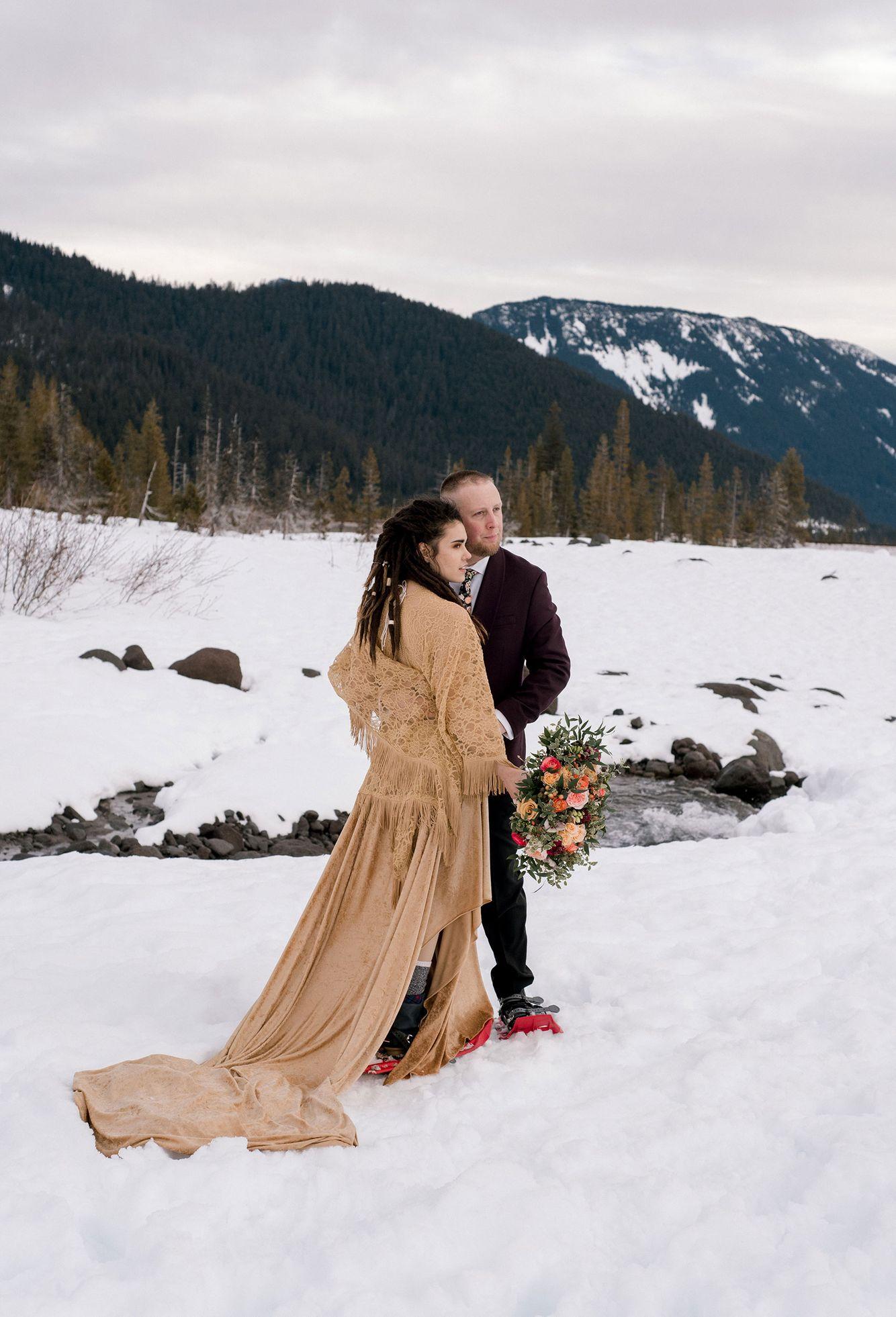Winter-elopement