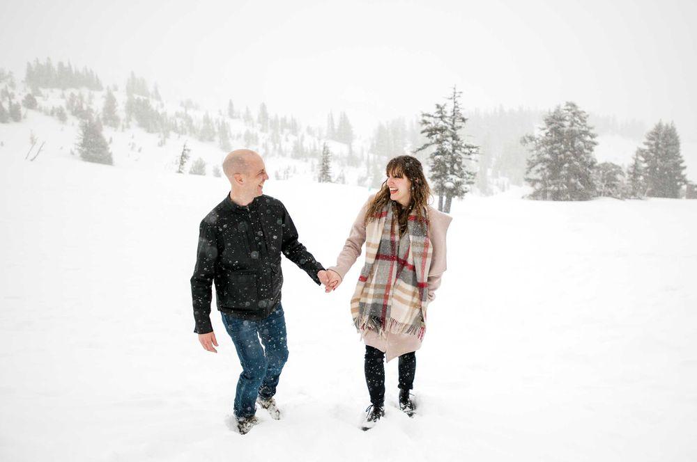 Snow session on Mt. Hood