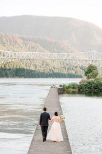 Columbia River Gorge wedding