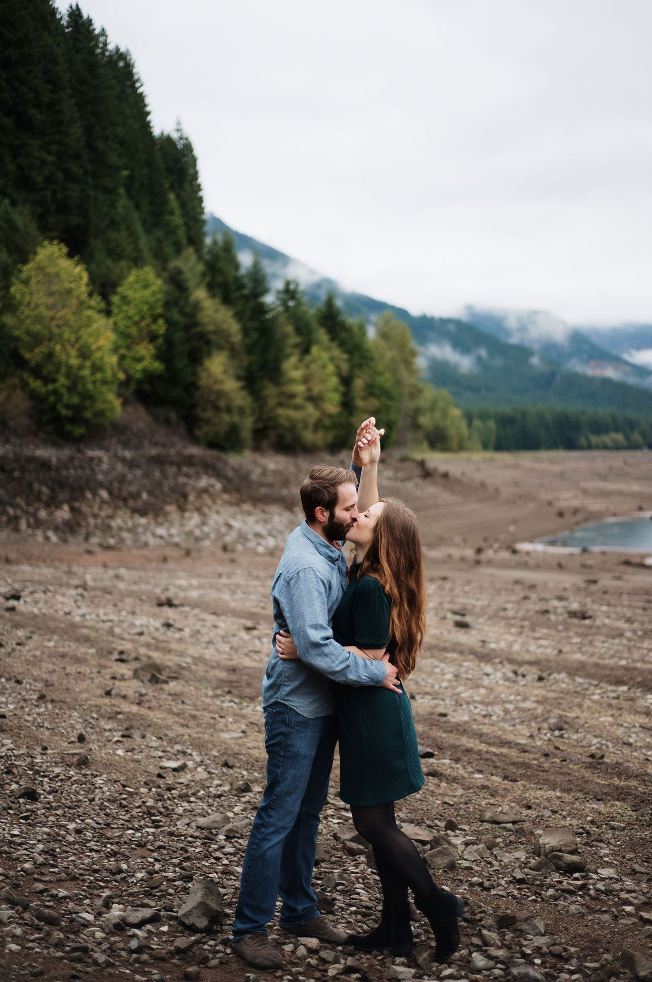 Santiam Canyon engagement