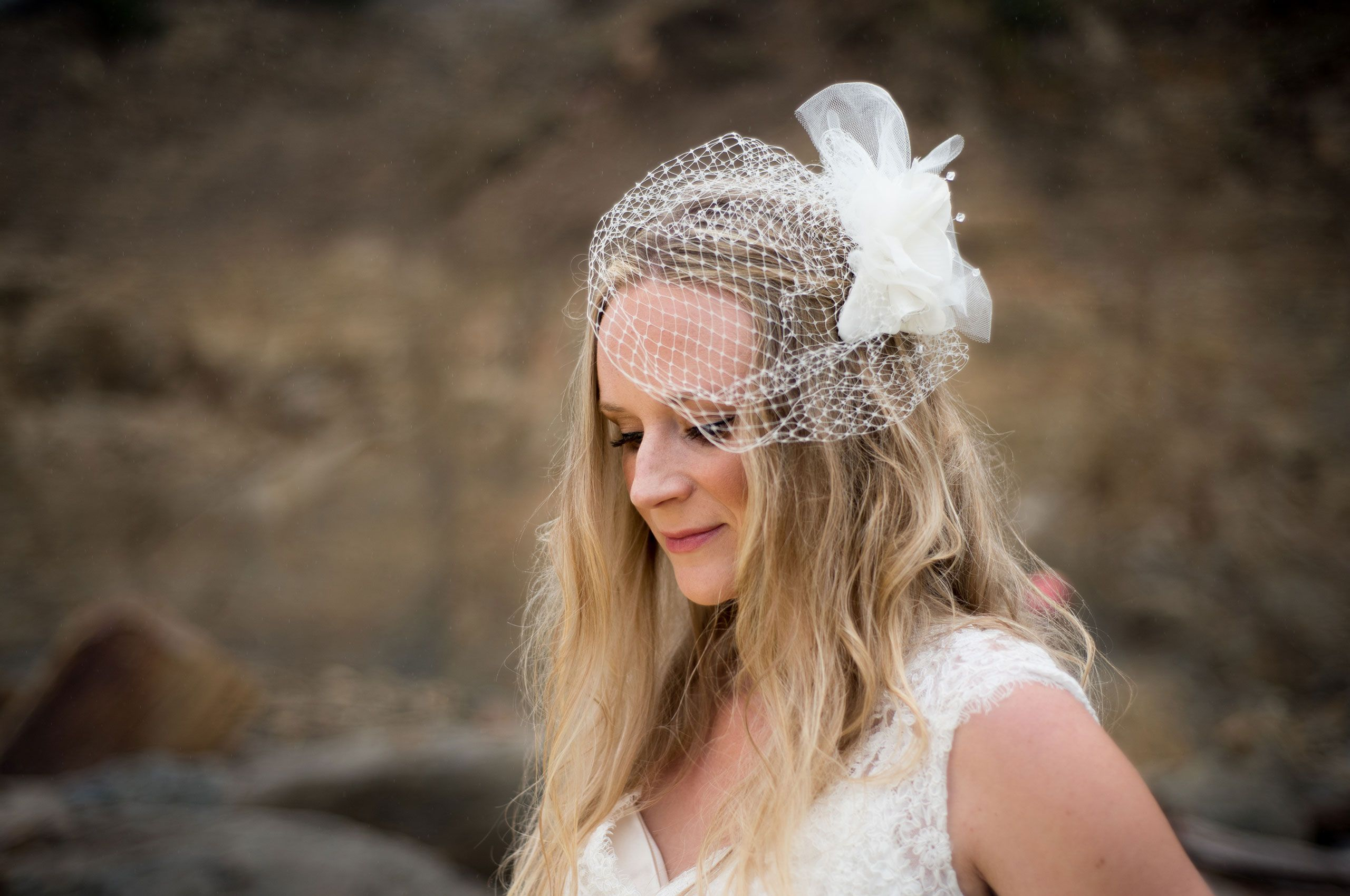 Oregon Coast bridal photo shoot