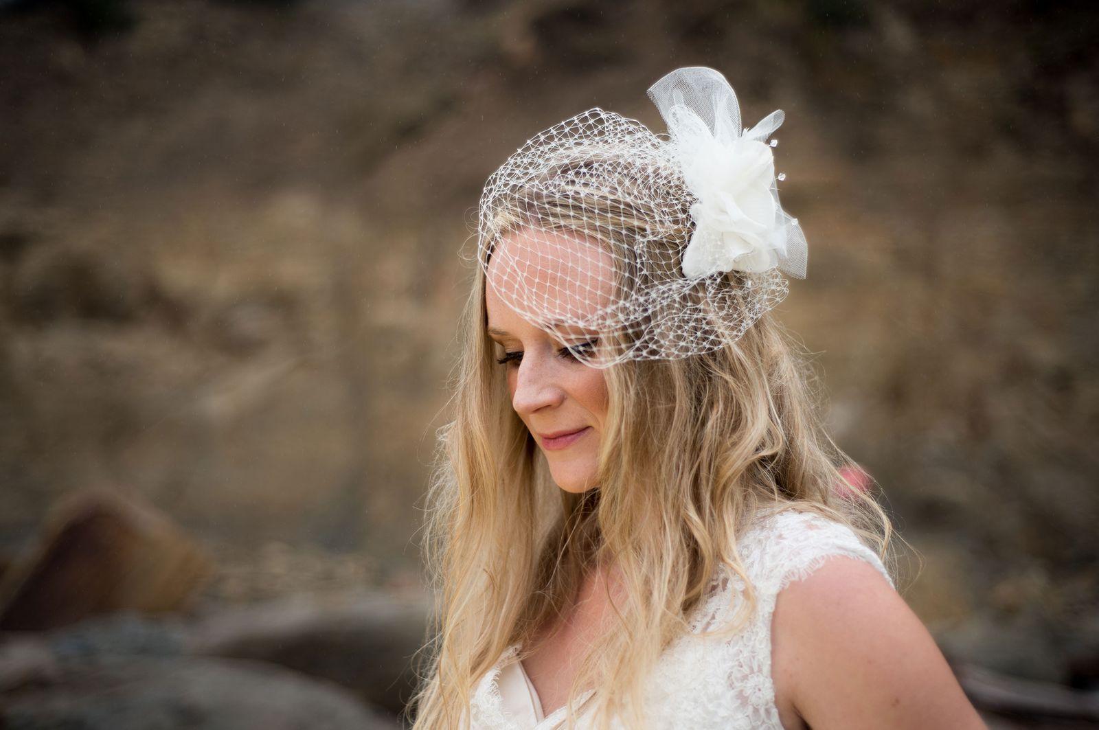 Oregon Coast bridal photo shoot