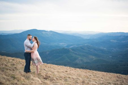 Marys Peak portrait session