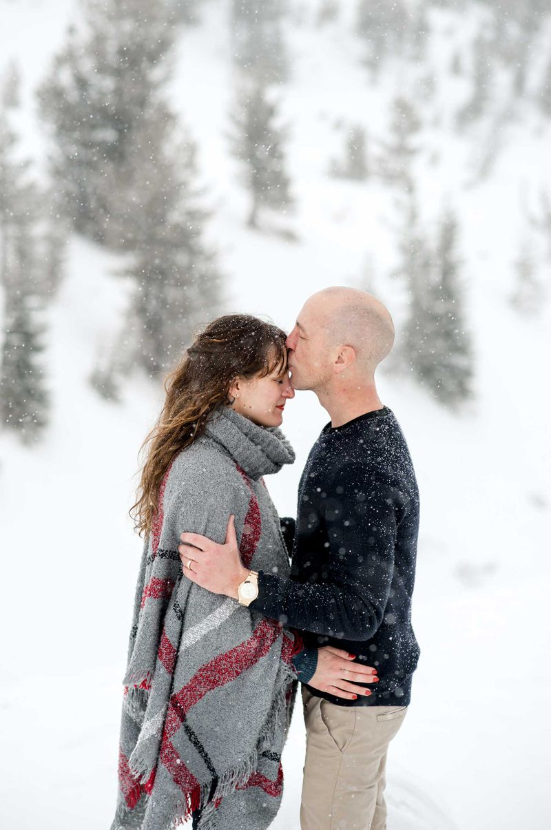 Winter portraits at Timberline