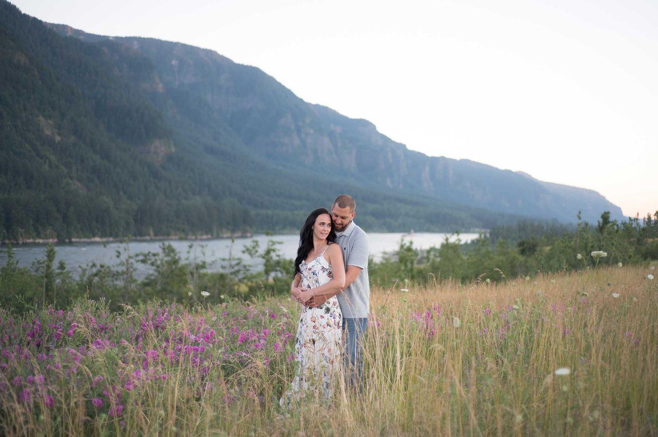 Columbia Gorge engagement