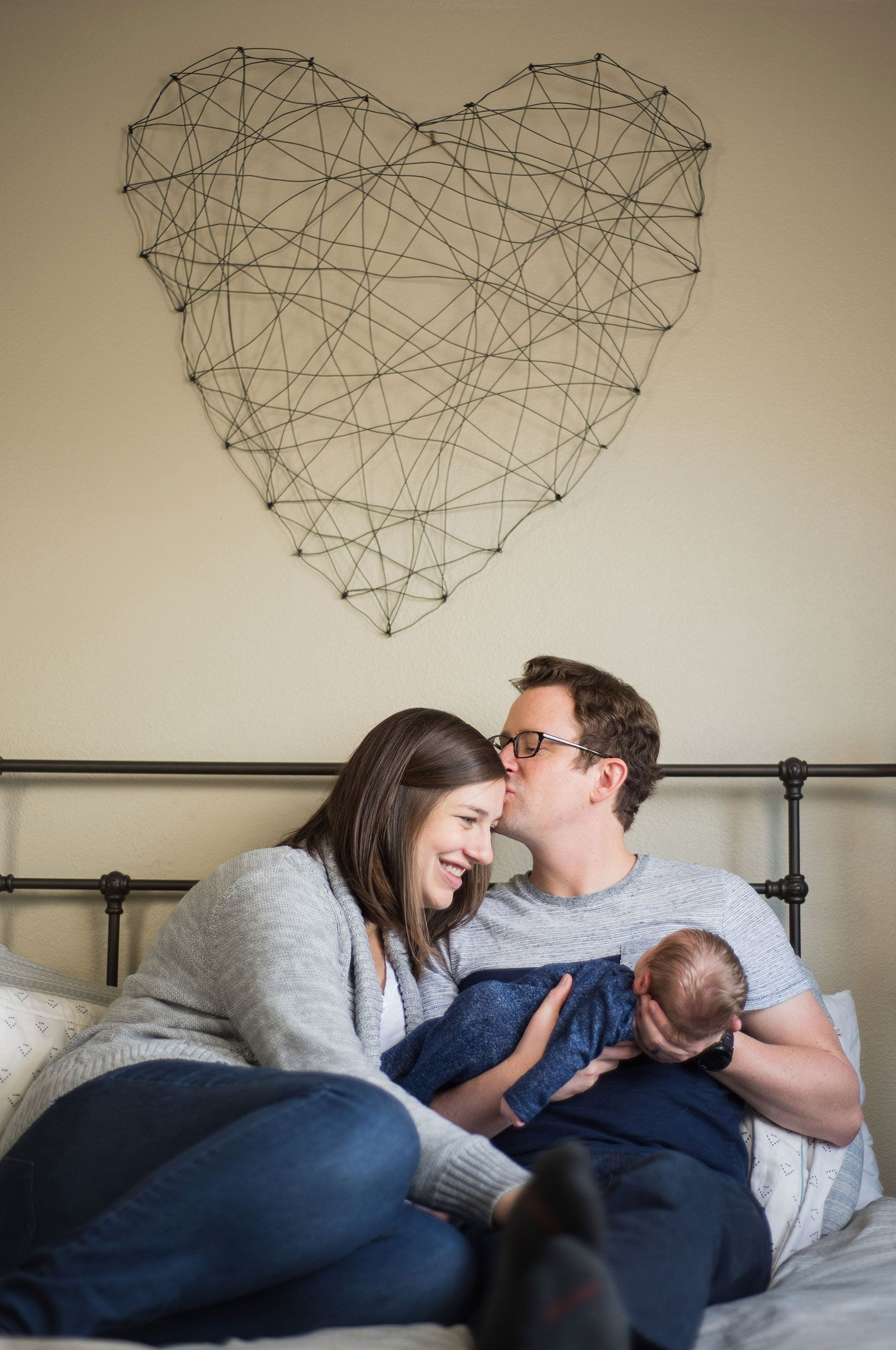 In-home newborn session