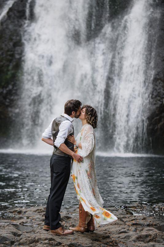 Silver-Falls-elopement