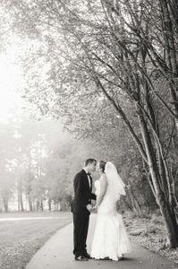 Fall wedding in Oregon