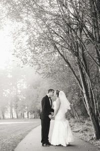 Fall wedding in Oregon
