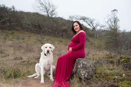 Columbia River Gorge maternity photos