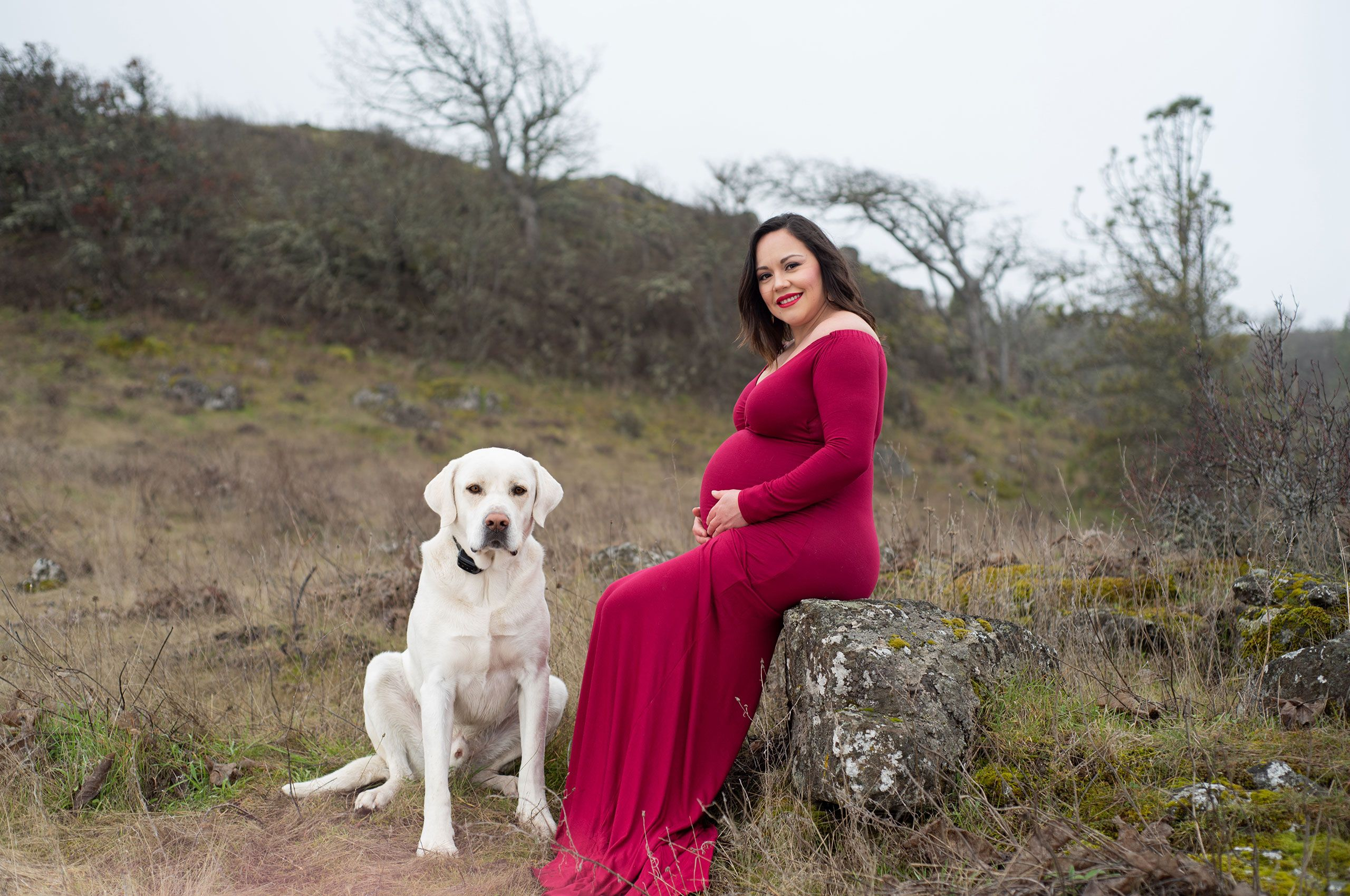 Columbia River Gorge maternity photos