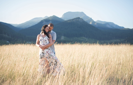 Columbia Gorge engagement