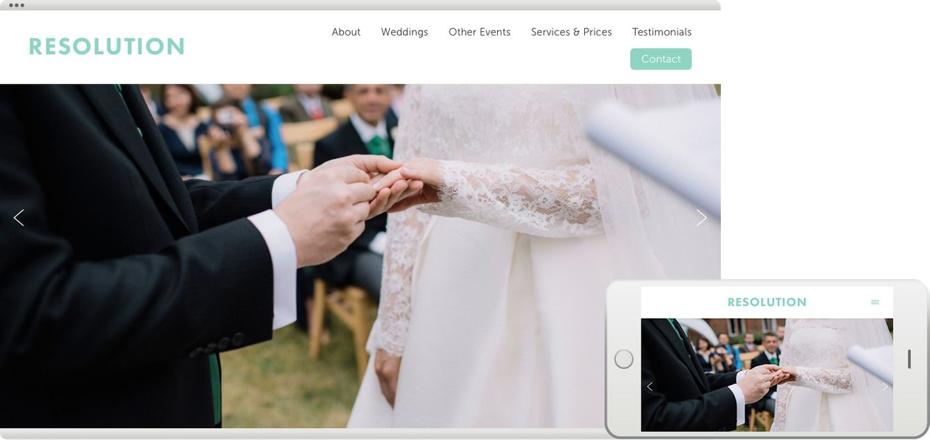 Business Websites for WeddingWire - Business Websites for WeddingWire