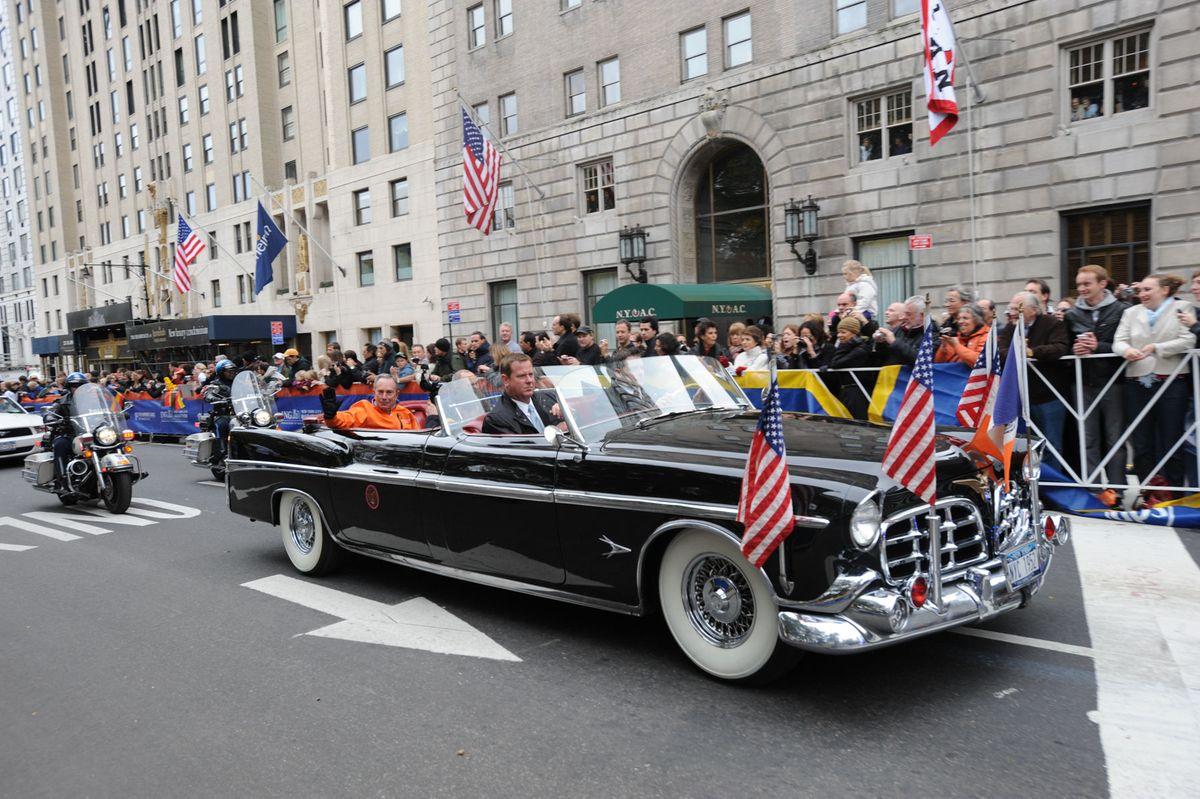 Mayor Bloomberg at the New York Marathon