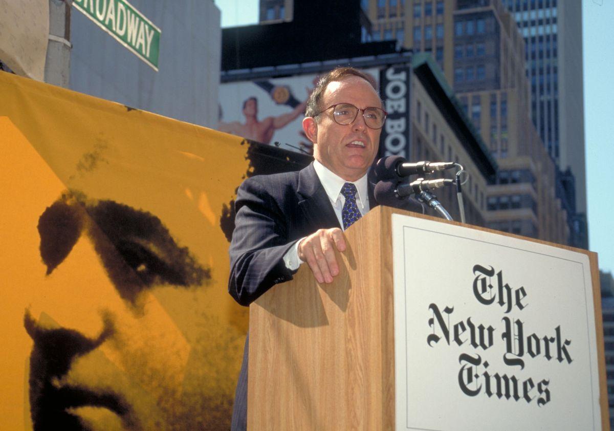 Mayor Rudy Guiliani