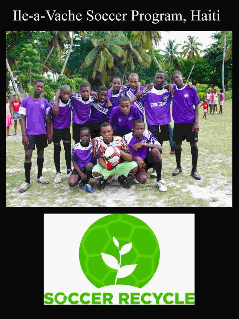 Ile a vache Soccer Program Simon Russell Photography