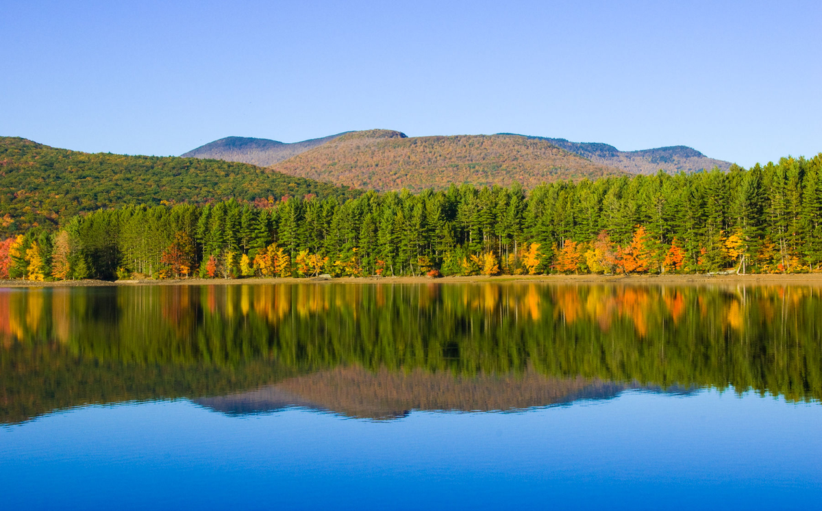 Coopers Lake, Catskill Mountains