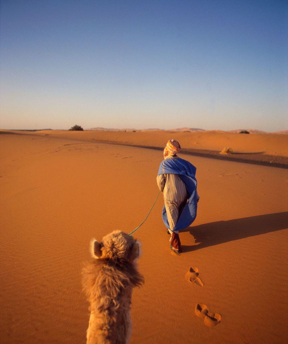 Erg Chebi, Merzouga, Morocco