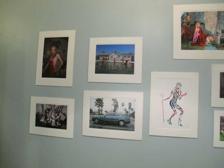 A few of Rafael Fuchs images at the show