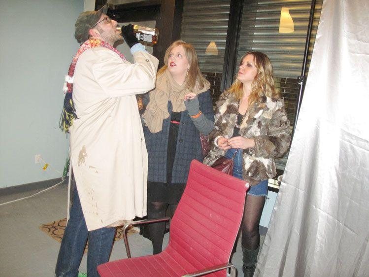 Eric, Roxy and Rachel