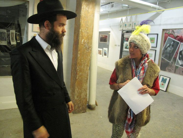 Rabbi Menachem of the Chabad center at the Loom and Sarah