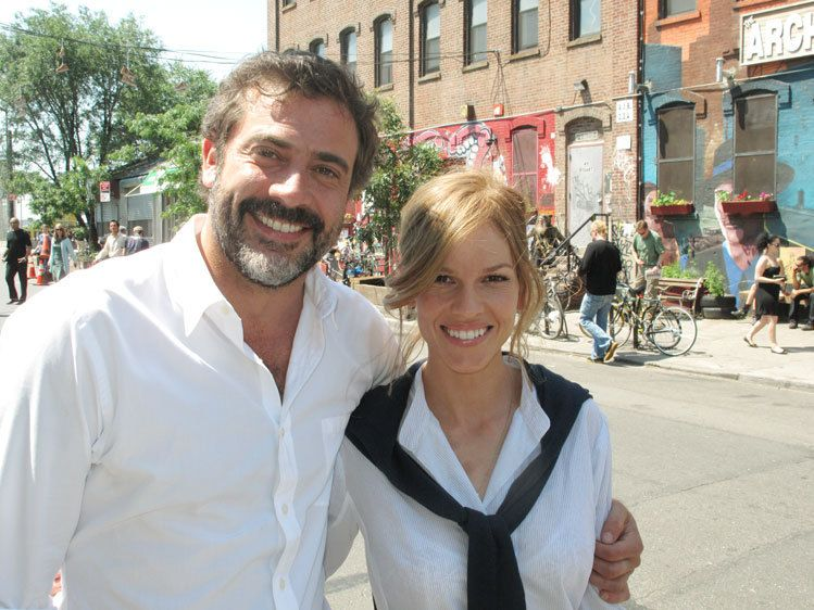Hillary Swank and Jeffrey Dean Morgan