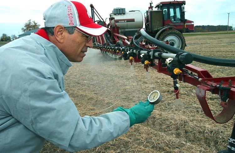 Successful Farming Magazine story on spray calibration / Ohio