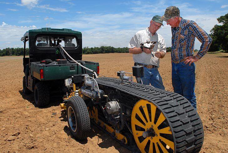 AgRobotics-AutoProbe / Automated Soil Sampler /Jim Burton / Newport, AK