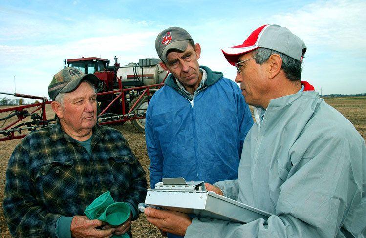 Successful Farming Magazine story on spray callibration / Ohio