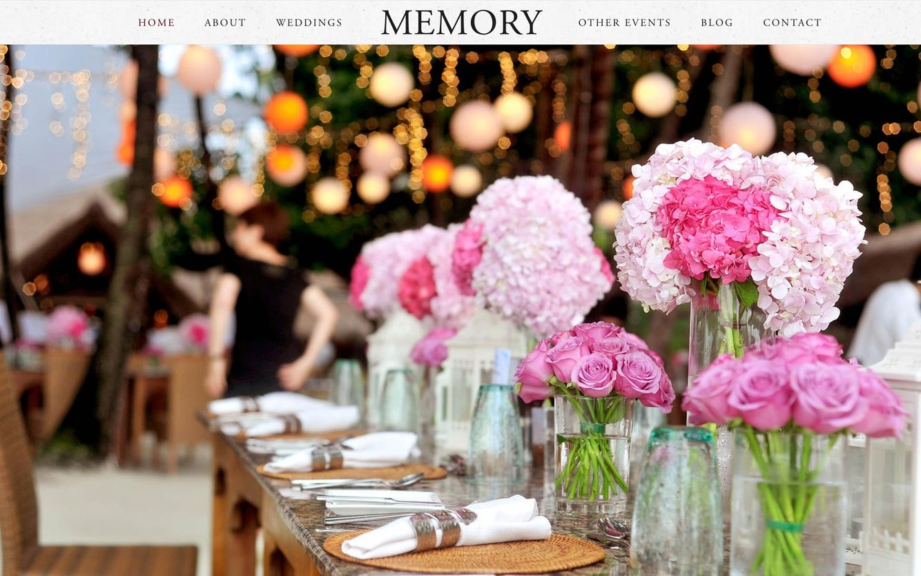 Event Planner Website Builder
