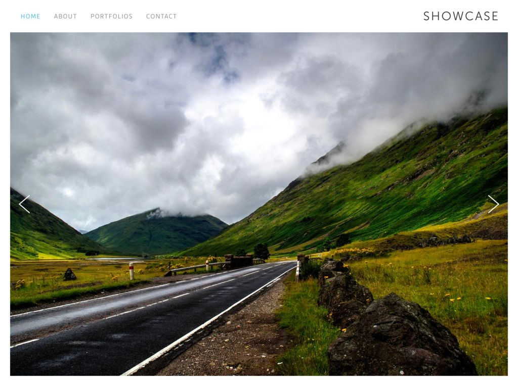Photography Website CMS
