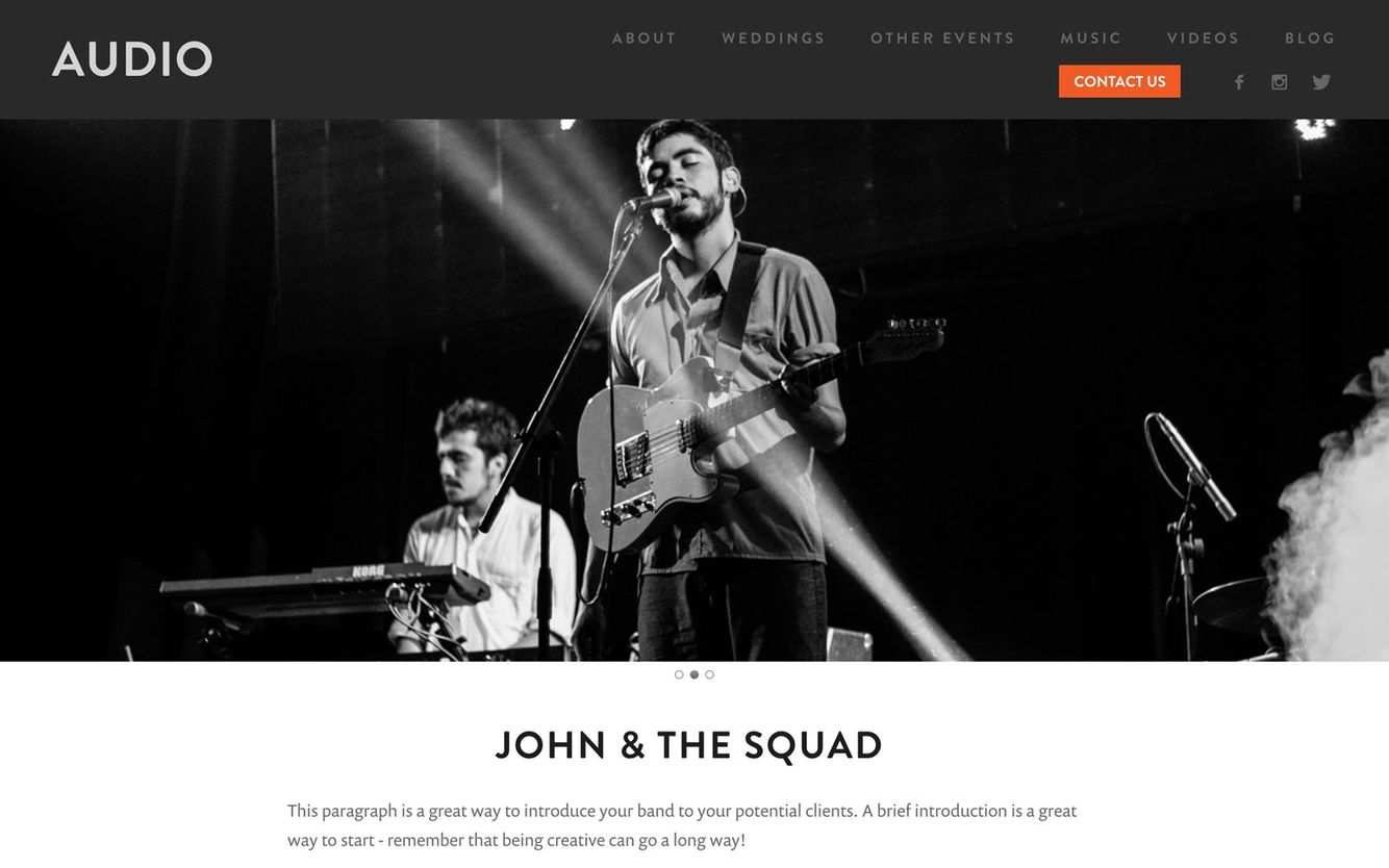 Best Website Builder for Musicians