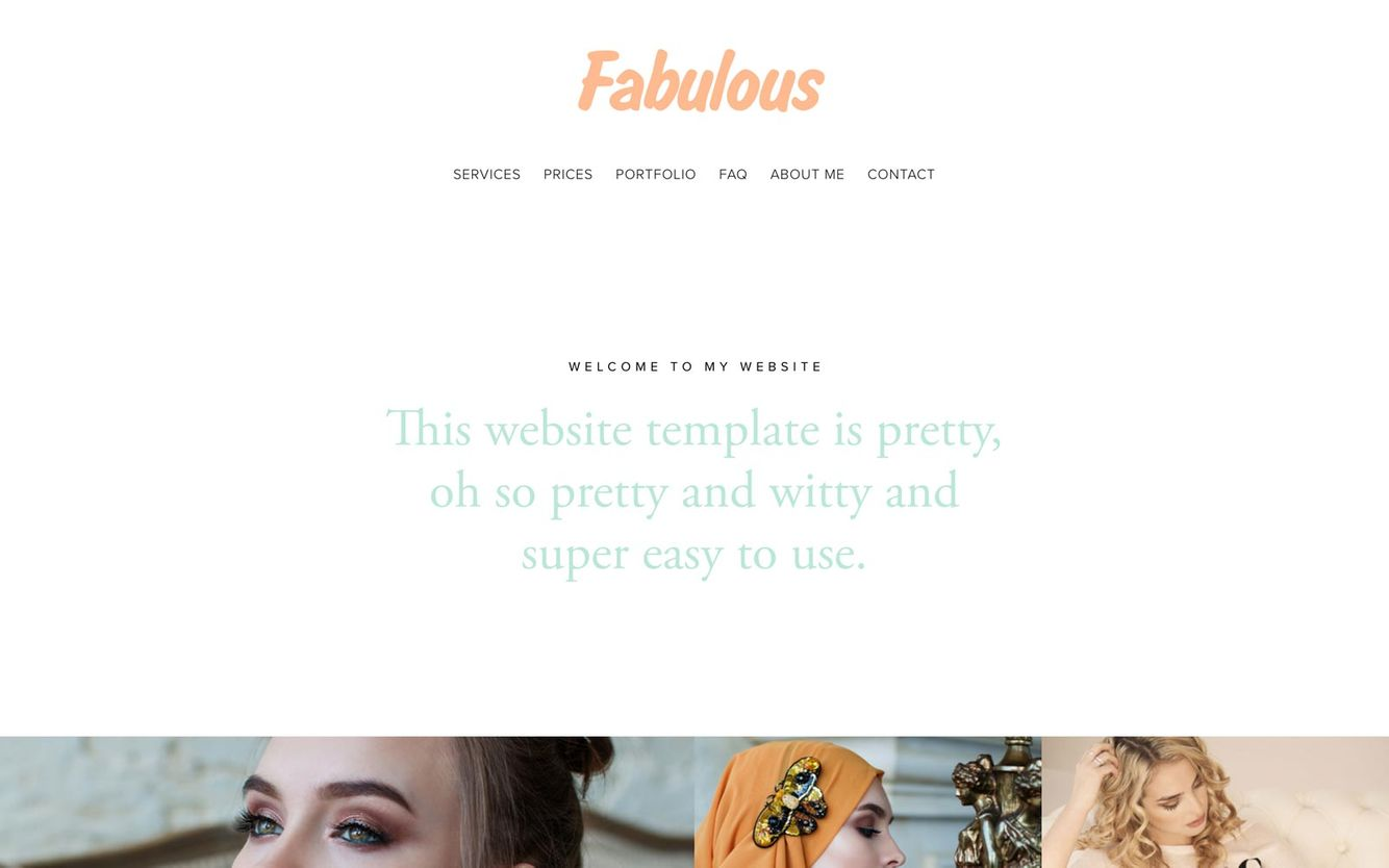 Fashion Portfolio Website Builder