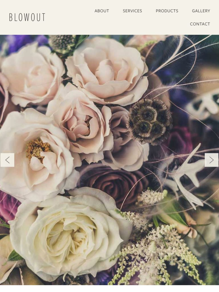 Website Builder for Florist