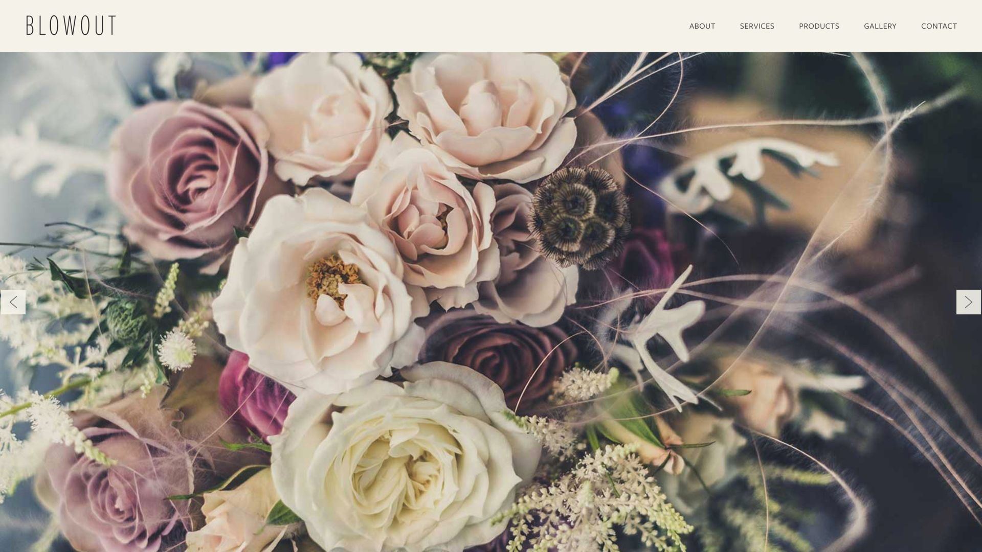 Floral Shop Website Builder