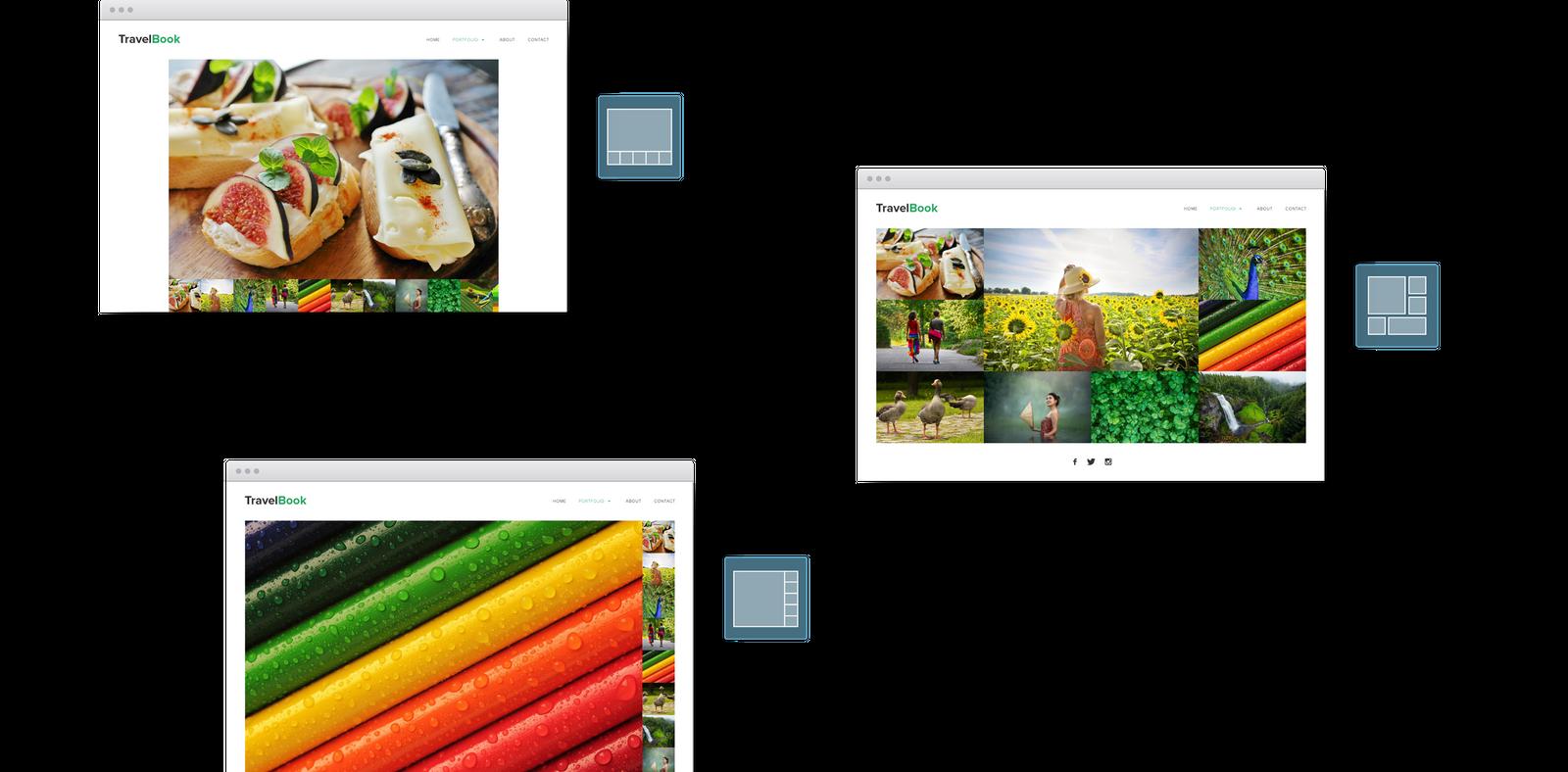 Photo Website Templates