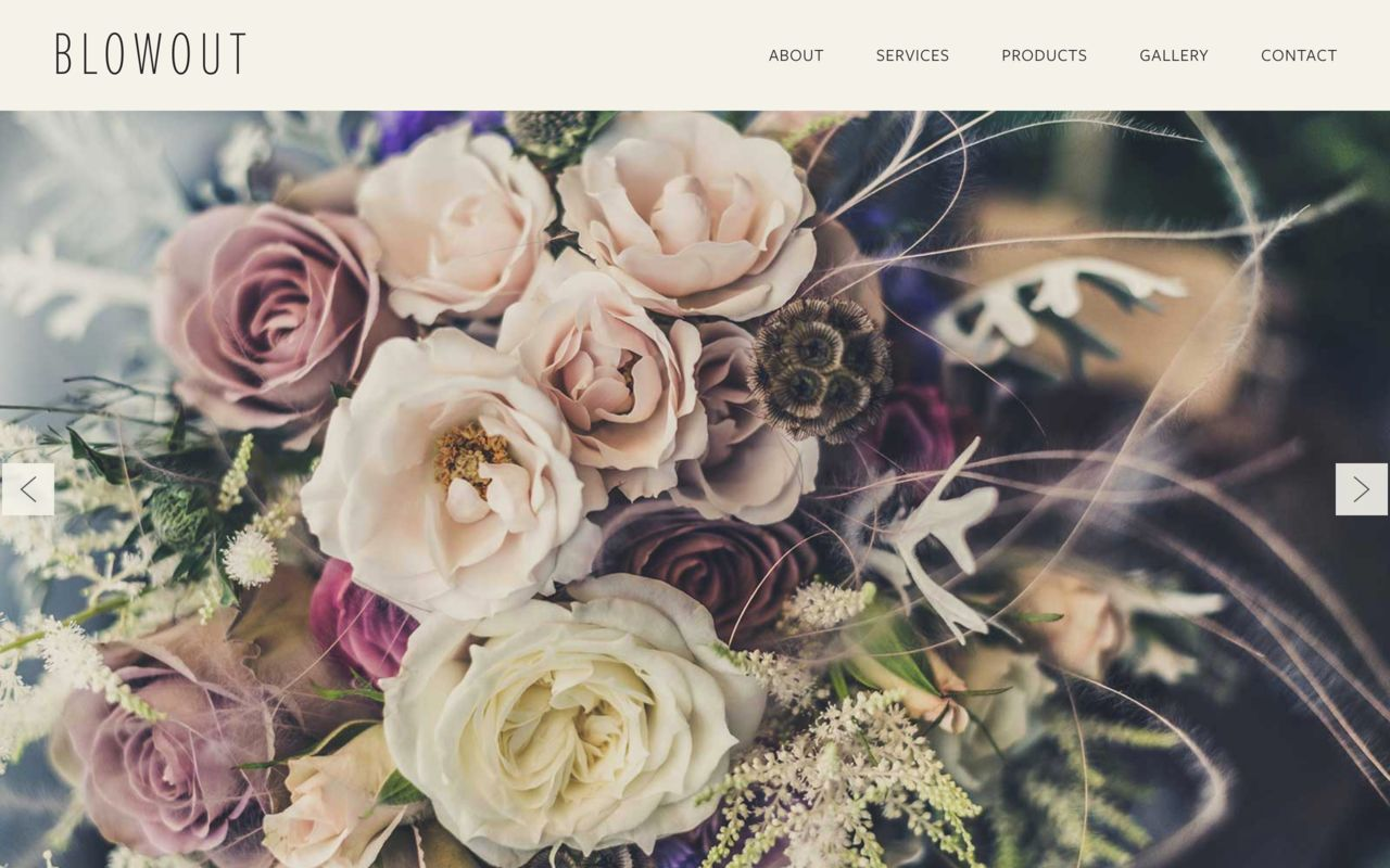 Flower Shop Website Builder