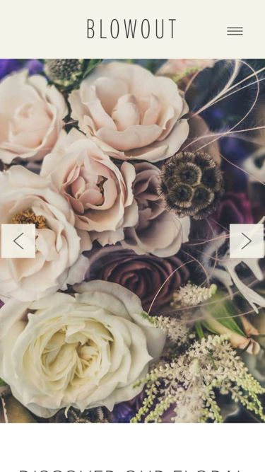 Website Templates for Florists